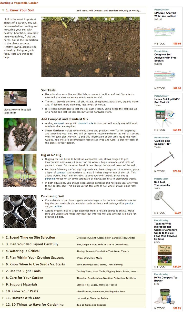 Garden Soil Guide