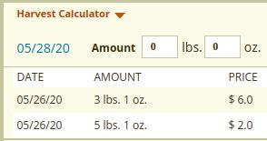 Left side of Calculator